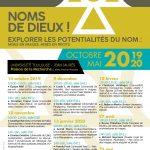 """Continuez l'écoute du séminaire """"Noms de dieu(x) !"""", 4e édition"""