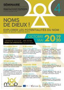 """Listen to the 4th seminar """"Noms de dieu(x)!"""""""